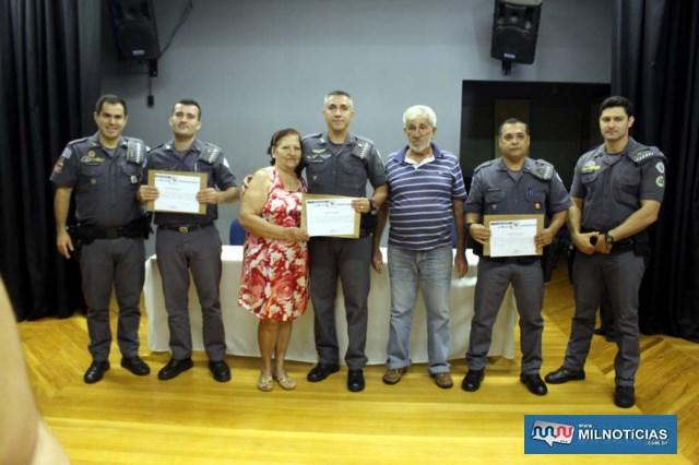 Destaque no serviço administrativo do mês de janeiro/19. 1º sargento PM Fernando Ramos Vieira.  Foto: Manoel Messias/Mil Noticias