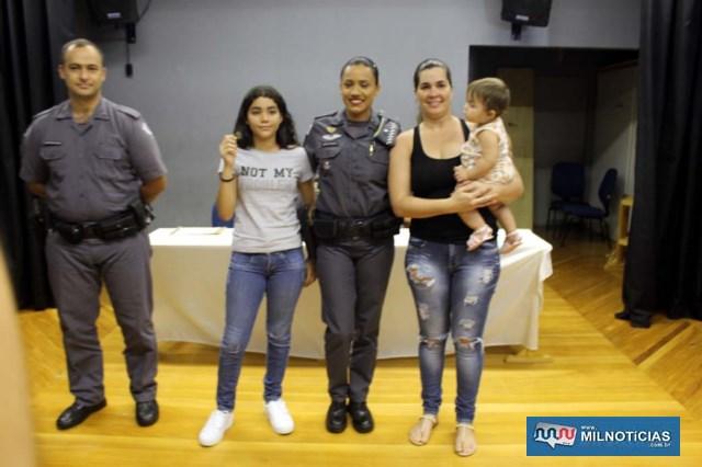 Láureas do Mérito Pessoal em 5º GRAU: Soldado PM Thainara Fernanda de Melo. Foto: MANOEL MESSIAS