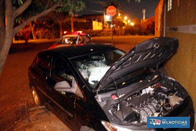 Acidente aconteceu no cruzamento das ruas Rio Grande do Norte com Guaraçaí (ao fundo). Foto: MANOEL MESSIAS/Agência