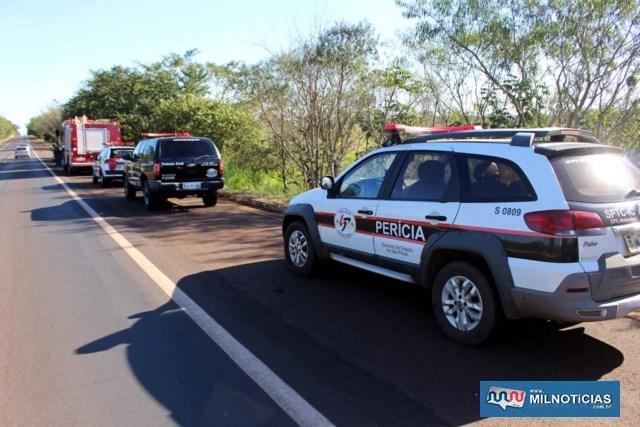 Perícia técnica, Polícia Civil, Polícia Militar e Corpo de Bombeiros foram mobilizados na ocorrência. Foto: MANOEL MESSIAS/Agência