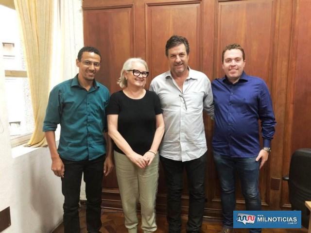 Equipe do Governo de Andradina na SELJ. Foto: Secom/Prefeitura