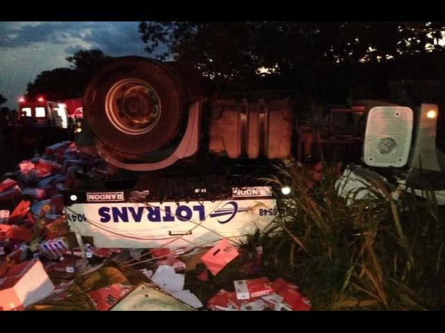 Motorista da Lotrans morreu prensado em acidente próximo de Ouroeste. Foto: Região Noroeste