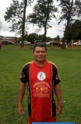 """Luis Carlos Ramos, o """"Lú Lumbriguinha"""", era muito conhecido no meio futebolístico andradinense. Foto: DIVULGAÇÃO"""