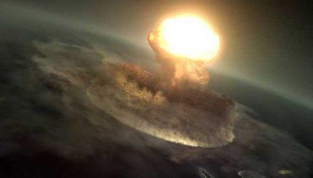 Astrônomos de diferentes partes do mundo enfrentaram o desafio de calcular como desviar um asteroide da rota da Terra — Foto: Nasa Scientific Visualization Studio.