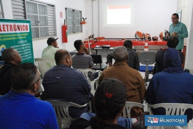Curso aborda aspectos teóricos e práticos. Foto: Secom/Prefeitura