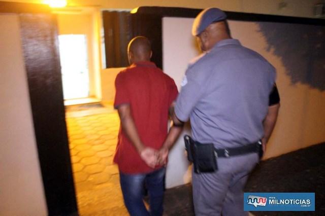 Gelson de Oliveira, 53 anos, foi capturado e encaminhado ao plantão policial e depois recambiado ao sistema prisional. Foto: MANOEL MESSIAS/Agência