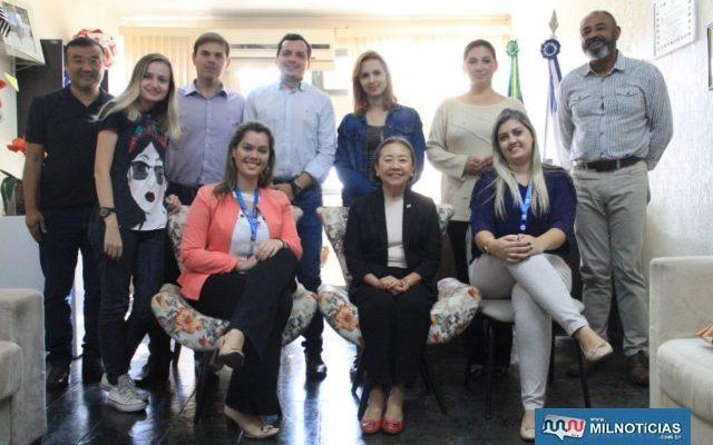 CIEE (Centro de Integração Empresa-Escola) e Governo de Andradina tem importante parceria na contratação de estagiários. Foto: Secom/Prefeitura