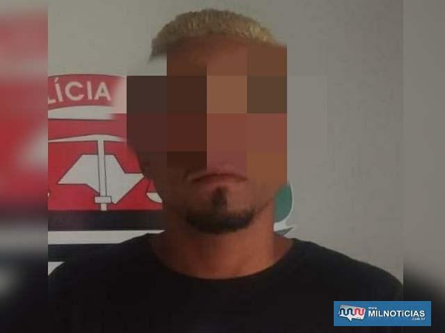 Washington do Carmo ou Washington Barbosa de Queiroz, apesar da pouca idade, possui extensa ficha criminal. Foto: DIVULGAÇÃO