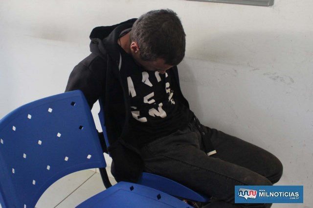 Mecânico foi indiciado por tráfico de entorpecente e permaneceu a disposição da justiça. FOTO: MANOEL MESSIAS/Agência