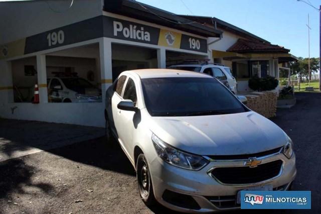 – O acusado, veículo e a droga foram encaminhados inicialmente para a base da Polícia Rodoviária em Andradina. FOTO: MANOEL MESSIAS/Agência
