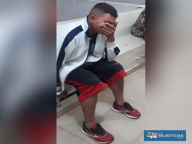 Morador do hotel localizado na rua Alexandre Salomão foi indiciado por tráfico/associação ao tráfico de drogas. FOTO: MANOEL MESSIAS/Agência
