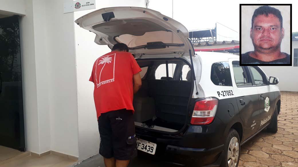 Emerson Ferreira dos Santos, de 41 anos, era o motorista do veículo detido com droga. Foto: MANOEL MESSIAS/Agência