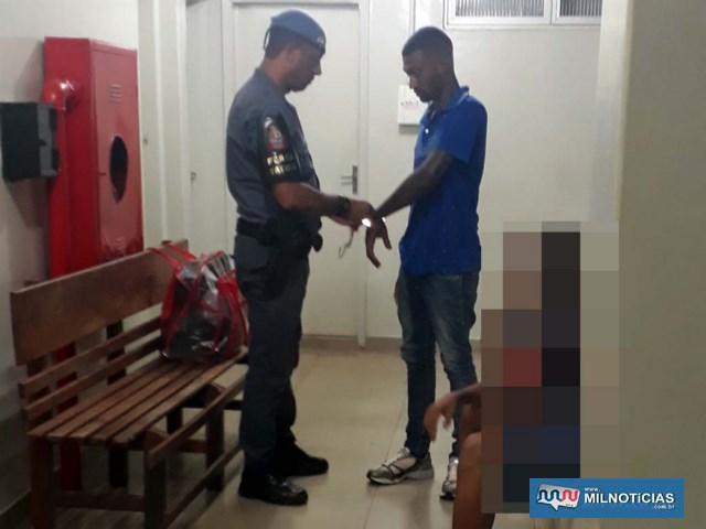 Ajudante geral Giovani Ricardo da Silva Farias, de 23 anos, foi indiciado e preso acusado de tráfico de entorpecentes. Foto: MANOEL MESSIAS/Agência