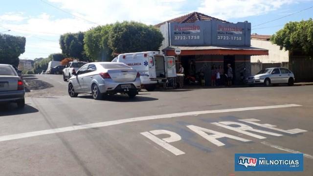 Acidente aconteceu quando comerciante que dirigia o Prisma avançou a sinalização de trânsito. Foto: MANOEL MESSIAS/Agência