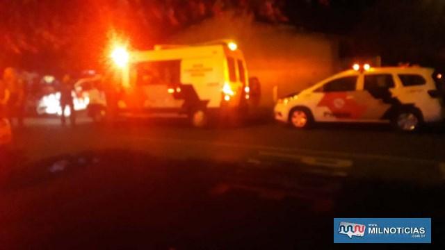 Um grande tumulto foi registrado no local do acidente por um grupo de pessoas contra os policiais que atendiam a ocorrência. Foto: MANOEL MESSIAS/Agência