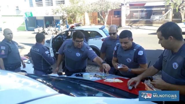 Todas as equipes da Polícia Militar de serviço atuaram na ocorrência. Foto: MANOEL MESSIAS/Agência