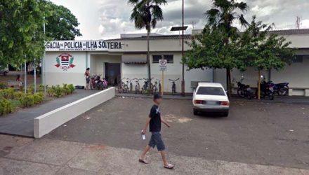 Homem esta preso na cadeia de Ilha Solteira.  Foto: Reprodução/Google Street View