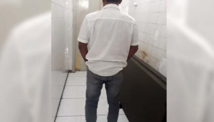 Condenado foi capturado, levado ao plantão policial e depois recolhido á cadeia de Ilha Solteira, aguardando vaga em uma penitenciária. Foto: MANOEL MESSIASA/Agência