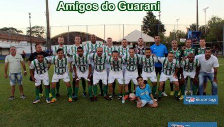 Amigos do Guarani venceu a primeira partida da semifinal da Copa Prando de Futebol Máster do ATC. Foto: MANOEL MESSIAS/Agência