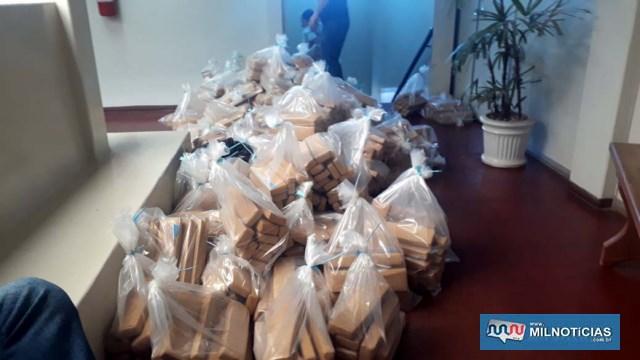 Drogas foram transportadas em dois veículos da Polícia Civil e foram encaminhadas para incineração. Fotos: MANOEL MESSIAS/Agência