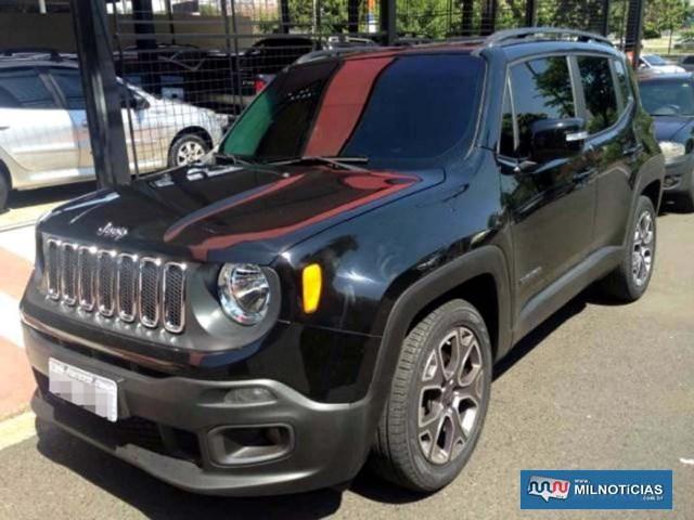 Jeep Renegade é semelhante ao da foto ilustrativa. Foto: DIVULGAÇÃO