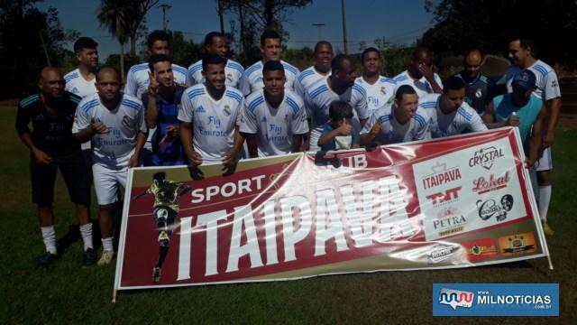 Grupo Petrópolis/Itaipava foi o vice campeão. Foto: MANOEL MESSIAS/Agência