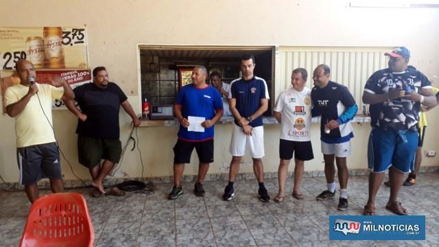 Após o encerramento da decisão, foi realizada cerimônia de entrega das premiações. Foto: MANOEL MESSIAS/Agência