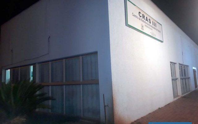 Furto aconteceu no prédio do CRAS III, localizado ao lado da praça do CEU, no bairro Benfica. Foto: MANOEL MESSIAS/Agência