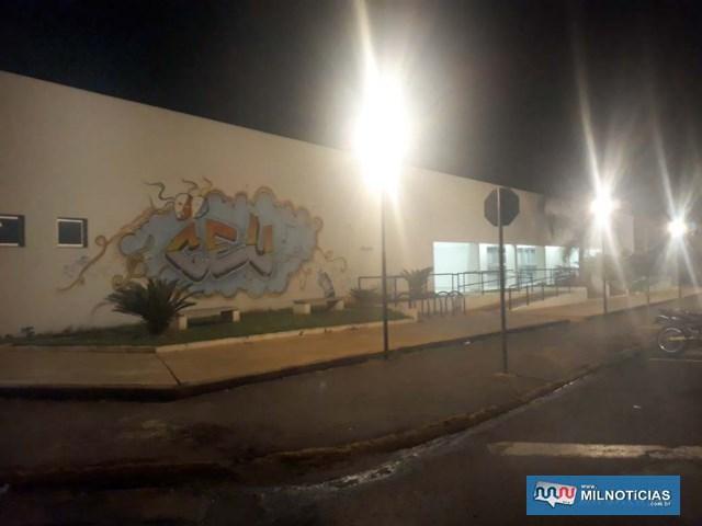 Local furtado fica ao lado da Praça do CEU – Centro de Educação Unificada, no bairro Benfica. Foto: MANOEL MESSIAS/Agência