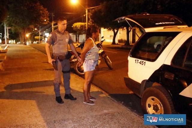 Desempregada foi indiciada por furto e permaneceu à disposição da justiça. Foto: MANOEL MESSIAS/Agência