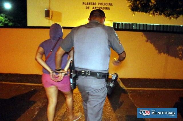 A outra mulher foi indiciada pelo artigo 349 – prestar auxílio destinado a tornar seguro o proveito do crime. Foto: MANOEL MESSIAS/Agência