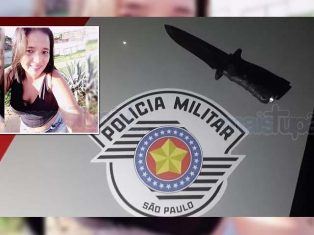 Faca utilizada no crime foi apreendida pela Polícia. Foto: Tupamais