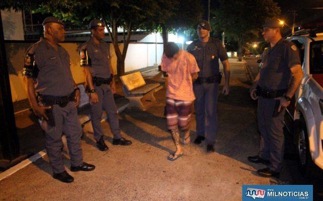 Acusado foi encaminhado ao plantão policial, indiciado, arbitrada fiança de R$ 4 mil, não sendo paga e ele permaneceu preso. Foto: MANOEL MESSIAS/Agência