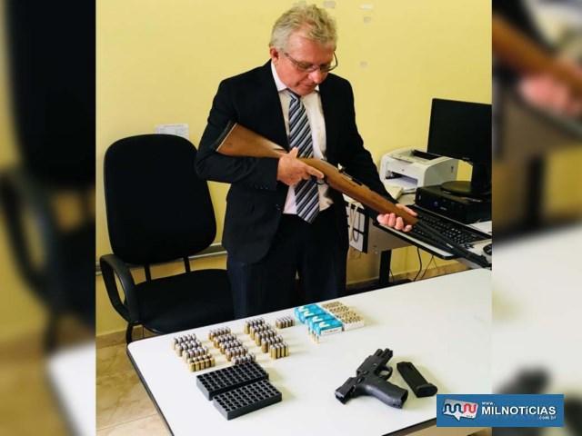 Delegado Tadeu e equipe de policiais paulistas estiveram em operação conjunta com policiais de Três Lagoas/MS. Foto: DIVULGAÇÃO