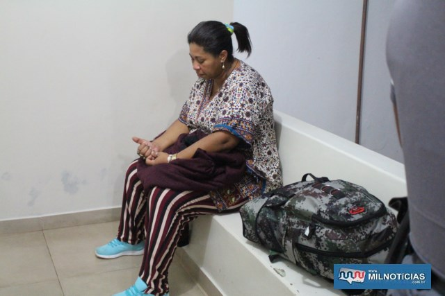 Moradora do Maranhão foi indiciada por tráfico de entorpecente, permanecendo à disposição da Justiça. Foto: MANOEL MESSIAS/Agência