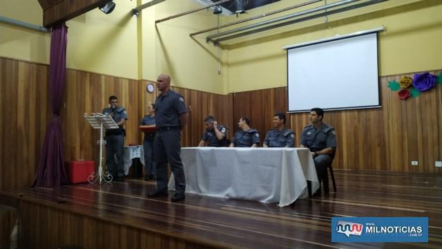 Cabo PM Luciano Berti Da Silva, destaque de dezembro/18. Foto: DIVULGAÇÃO