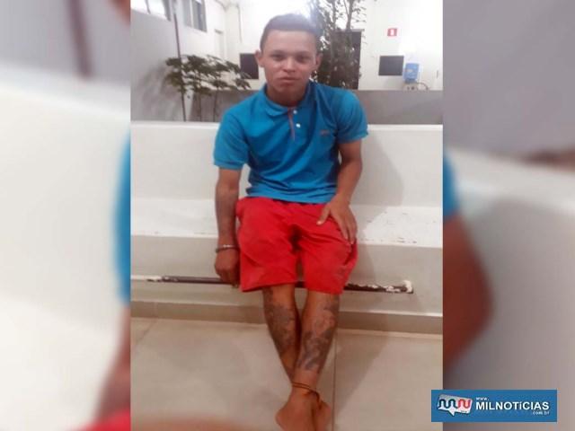 A. C. S., foi indiciado por tráfico de entorpecente, permanecendo à disposição da justiça. Foto: MANOEL MESSIAS/Agência