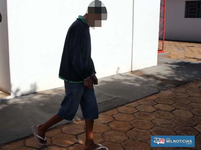Adolescente de 17 anos já esteve apreendido acusado de furto de motocicletas e atualmente vivia em abrigos. Foto: MANOEL MESSIAS/Agência