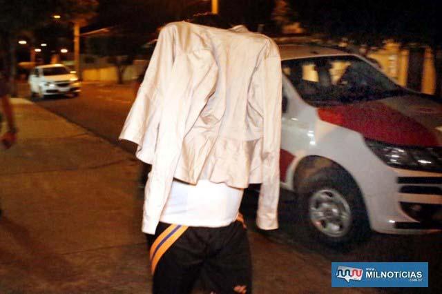 Marido da comerciante dirigia o veículo utilizado na traficância. Foto: MANOEL MESSIAS/Agência