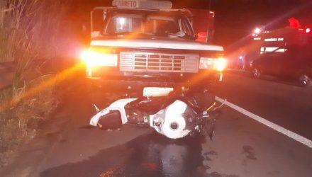 Primeiro acidente ocorreu por volta das 19h40 — Foto: Cedida/Cristiano Nascimento/FM Metrópole.