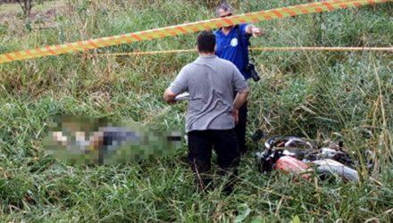 Perícia técnica compareceu ao local do acidente e deve emitir laudo em até 30 dias. Foto: DIVULGAÇÃO