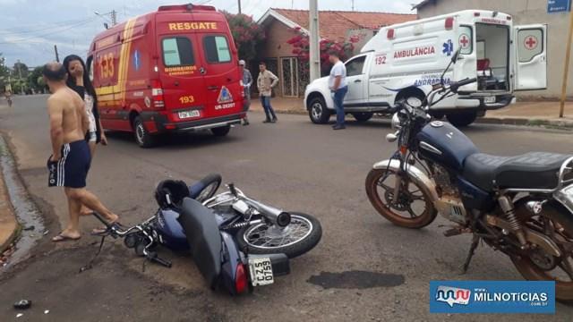 Acidente aconteceu nos cruzamentos das ruas Alagoas com Jesus Trujillo, no bairro Benfica. foto: MANOEL MESSIAS/Agência