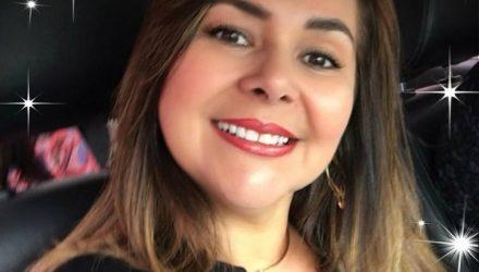 Sandra Siqueira Travaína, de 47 anos, foi morta em suposta tentativa de assalto em Várzea Grande — Foto: Facebook/Reprodução.