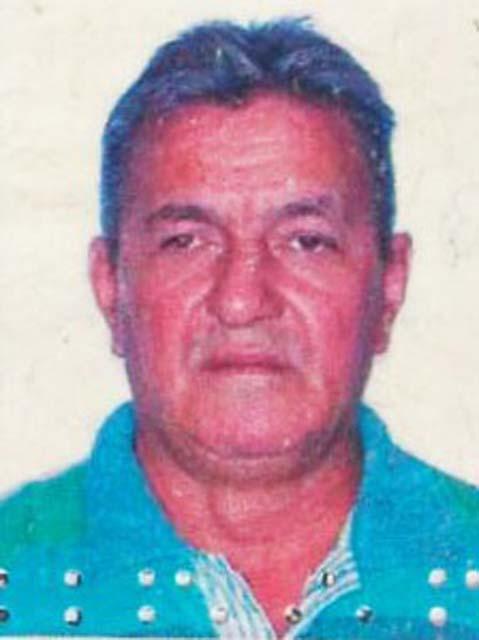 José Carlos, 58, morreu na hora. Foto: DIVULÇGAÇÃO
