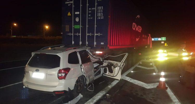Homem de 35 anos morre em acidente na Rodovia Anhanguera, em Campinas (SP). — Foto: Polícia Civil de Valinhos.