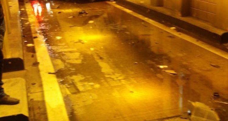 Motorista morreu após colidir contra uma mureta de concreto na rodovia Marechal Rondon, em Avaí (SP). — Foto: Arquivo Pessoal.