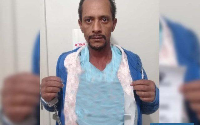Serviços gerais foi preso acusado de furto qualificado. Foto: DIVULGAÇÃO