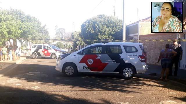 Polícia foi chamada para o local do crime em Guararapes — Foto: Josiane Lorenzetti/ Guararapes Sorriso