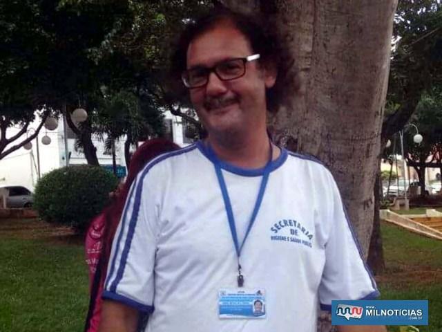 Agente de saúde Marcos Antônio foi morto por estrangulamento. Foto: Facebook/Reprodução