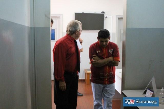 """Paulo Ricardo de Paula Ferreira, o """"Tatú"""" (dir.), de 32 anos, está preso como o principal acusado do homicídio. Foto: MANOEL MESSIAS/Agência"""